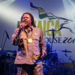 Luciano Thrills Fans At Jamaica House